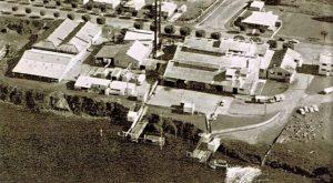 Aerial View Lower Manning Dairy Co-Op - Pitt Street Taree
