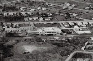 Aerial View - Peters Factory - Railway Pde, Taree