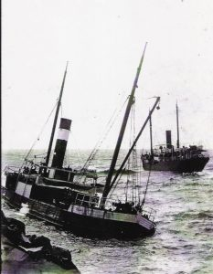 Cooloon Built Langley Vale by W. Langley - wrecked Harrington