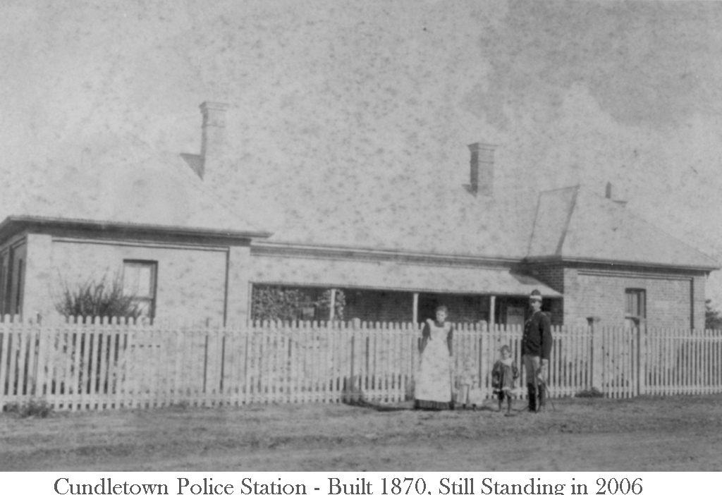 Cundletown Police Station Built 1870 Still standing 2005